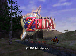 the legend of zelda: ocarina of time version 1.0 ntsc-us rom