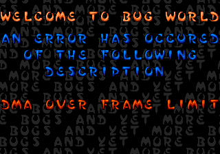 Help! I'm trapped in Bug World!