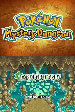 Pokemon Mystery Dungeon Explorers Of Sky The Cutting Room Floor