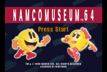 Namco Museum 64 - The Cutting Room Floor