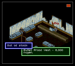 Shadowrun SNES Bullet Proof Vest English.png