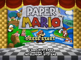 Paper mario the cutting room floor title screen paper mario mightylinksfo