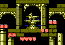 Castlevania III Statue US 2.png