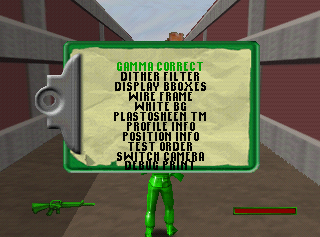 Army Men Sarge's Heroes 2 N64 Cheat Menu3.png