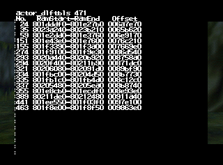 Who crashed the game? Fun debug action from ages 00 to FF