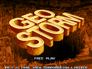 Geo Storm Title Screen.png