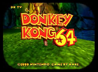 donkey kong 64 rom hack