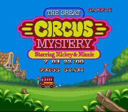 The Great Circus Mystery SNES SAMPLE text.png