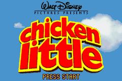 chicken little game boy advance