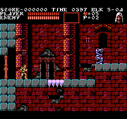Castlevania III: Dracula's Curse/Regional Differences - The Cutting