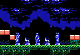 Castlevania III Statue US 1.png