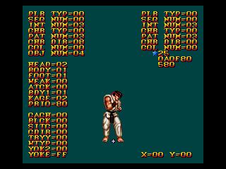 street fighter 2 ryu moves sega