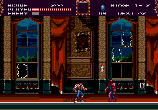 Castlevania The Lecarde Chronicles  Skeleton Room
