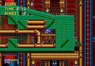 Proto Sonic The Hedgehog 2 Genesis Simon Wai Prototype Metropolis Zone The Cutting Room Floor