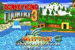 Donkey Kong Country 3 Gba Cheats