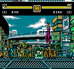 The King Of Fighters 96 Nes The Cutting Room Floor