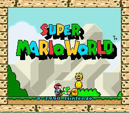 Super Mario World (SNES) - The Cutting Room Floor