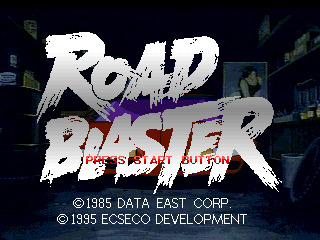 Road Blaster (PlayStation) - The Cutting Room Floor