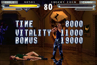 Street Fighter The Movie Arcade The Cutting Room Floor