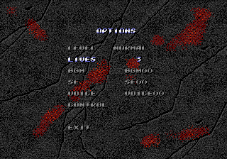 Streets of Rage 3 Option Menu.png