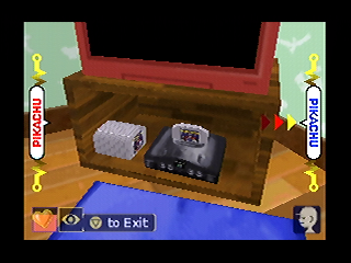 An Nintendo 64 IN an game played on the Nintendo 64? That's just weird.