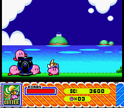 I'm seeing double! Two Kirbys!