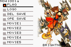 Kingdom Hearts Chain of Memories Debug Menu 2.png