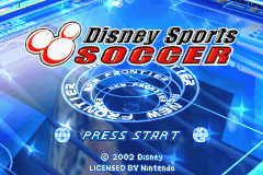 Disney Sports - Soccer GBA Title.png