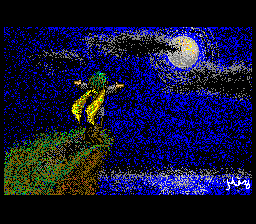 Starry, starry night. Paint your pixels blue and grey.