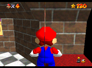 The original texture placement in the Japanese version.
