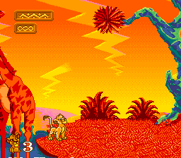 Proto:The Lion King (SNES)/Early Prototype - The Cutting