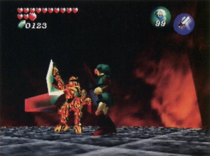 Prerelease:The Legend of Zelda: Ocarina of Time/A + B - The Cutting