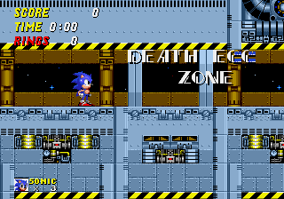 Proto Sonic The Hedgehog 2 Genesis Censor Prototype Death Egg And Hidden Palace The Cutting Room Floor