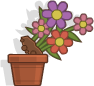Poptropica Counterfeit Flower Pot.png