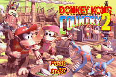 Donkey Kong Country 2 Diddys Kong Quest Game Boy Advance The