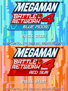 Mega Man Battle Network 4 - The Cutting Room Floor