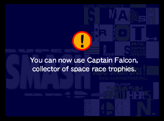 This is probably one of the worst descriptions of Captain Falcon, ever.