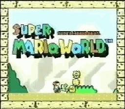 Prerelease:Super Mario World (SNES) - The Cutting Room Floor