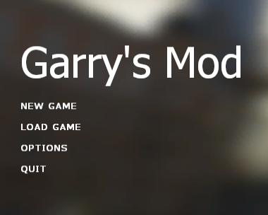 Garry's Mod (2012)/Early forms of Garry's Mod - The Cutting Room Floor