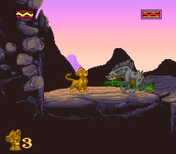 lion king snes