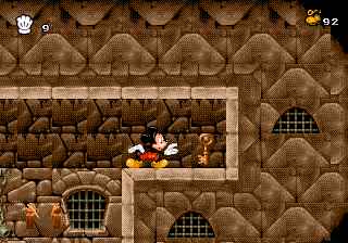 """Prince Mickey has left behind the key to Pete's tower!"""