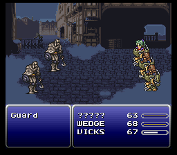 Final Fantasy VI - The Cutting Room Floor