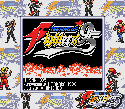 King of Fighters '95 USA Title Screen.PNG
