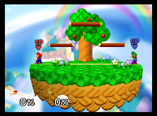 Not a bad stage, but those ledges are very annoying.