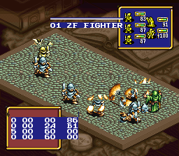 Ogre Battle: The March of the Black Queen (SNES) - The