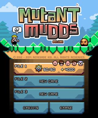 Mutant Mudds (Nintendo 3DS) - The Cutting Room Floor