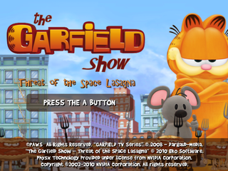 The Garfield Show Threat Of The Space Lasagna Wii The Cutting Room Floor