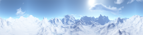Unused skybox from TEST7