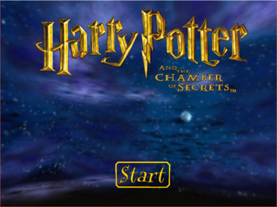 Proto:Harry Potter and the Chamber of Secrets (Windows, Mac