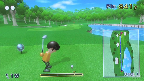 Wii Sports-Glf course E3 BETA.png